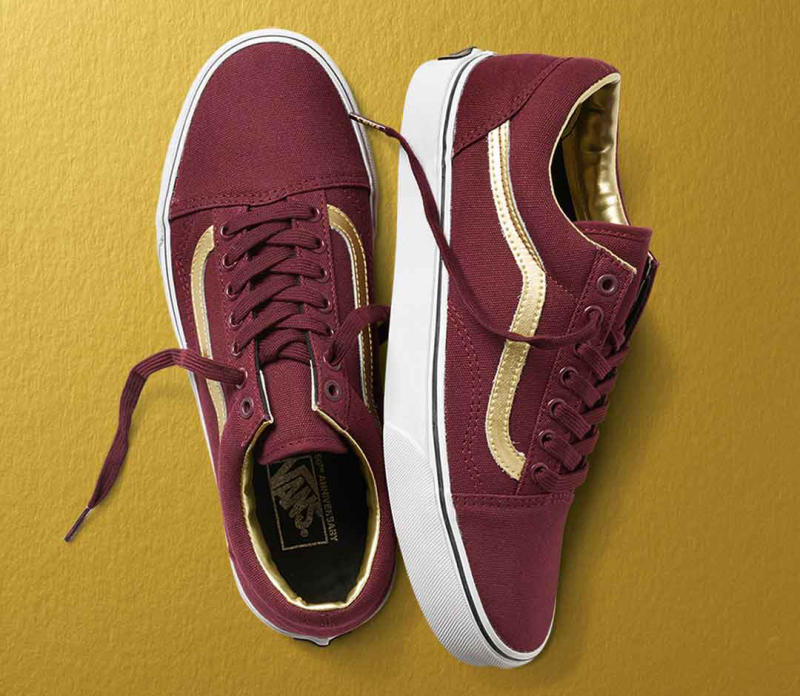 24a55f9c5a6 Vans Celebrates Its Big Birthday With Golden Sneakers