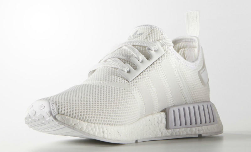 White Adidas NMD Sole Collector