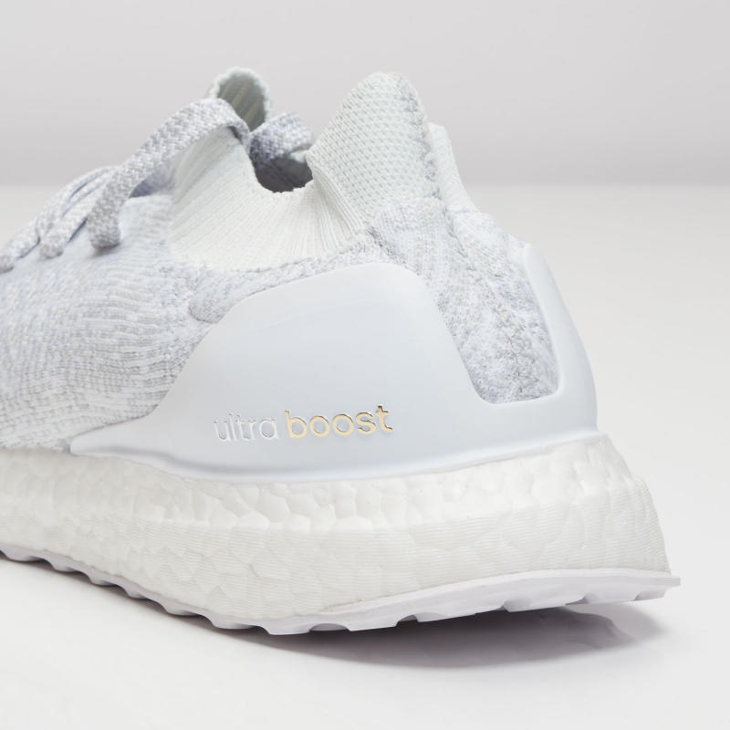 adidas ultra boost uncaged triple white sole collector. Black Bedroom Furniture Sets. Home Design Ideas
