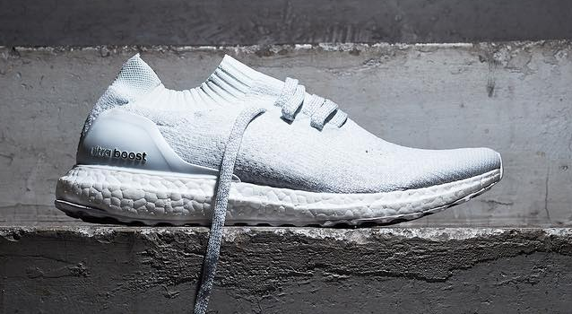 Adidas Ultra Boost White Uncaged