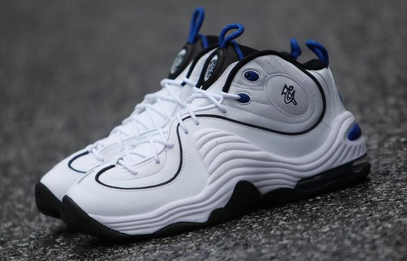 49b670ea90e all white penny hardaway shoes