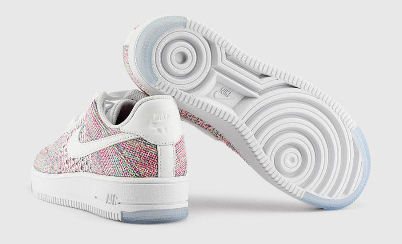 c642c38b0502 Multicolor Flyknit Threads Take Over the Air Force 1