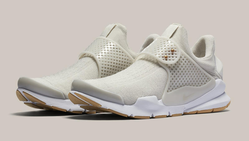 low priced a3c65 71219 Womens Nike Sock Dart Sail White Gum | Sole Collector