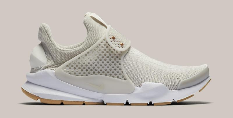 Womens Nike Sock Dart Sail White Gum Sole Collector