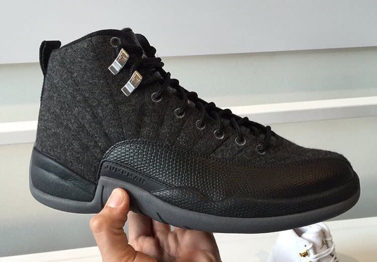 beautiful jordan 12 wool outfit boots