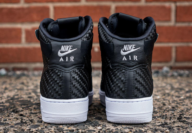Nike Lunar Air Force 1 High Weave Black White