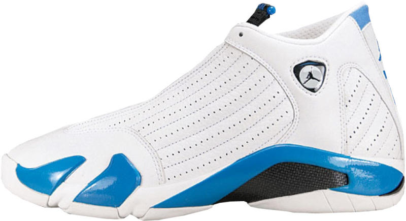 Air Jordan XIV  UNC  Style Code  136011-104. Colorway  White Black-Carolina  Blue Release Date  2000. Air Jordan 14 Retro   ... 4c48c1dbc