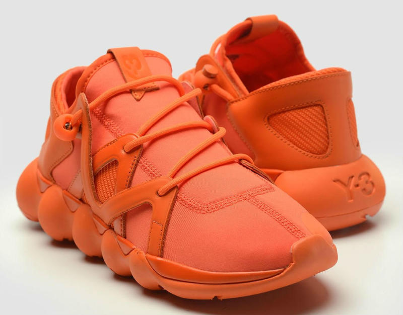 Y-3 Kyujo Low Orange (2)