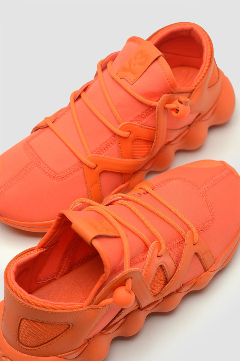 Y-3 Kyujo Low Orange (4)