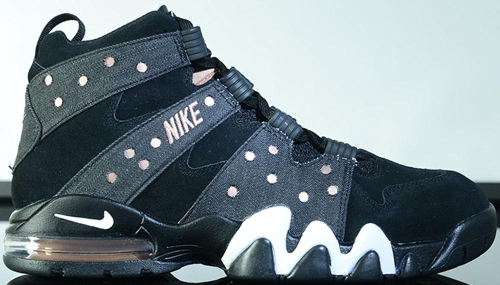 Nike Air Max2 CB '94 Black/Metallic Red Bronze-White