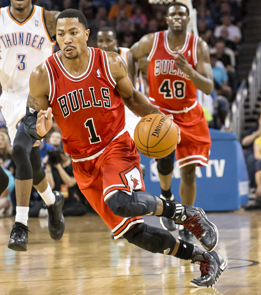 Jersey Spotlight // Derrick Rose Chicago Bulls adidas REV30 (8)