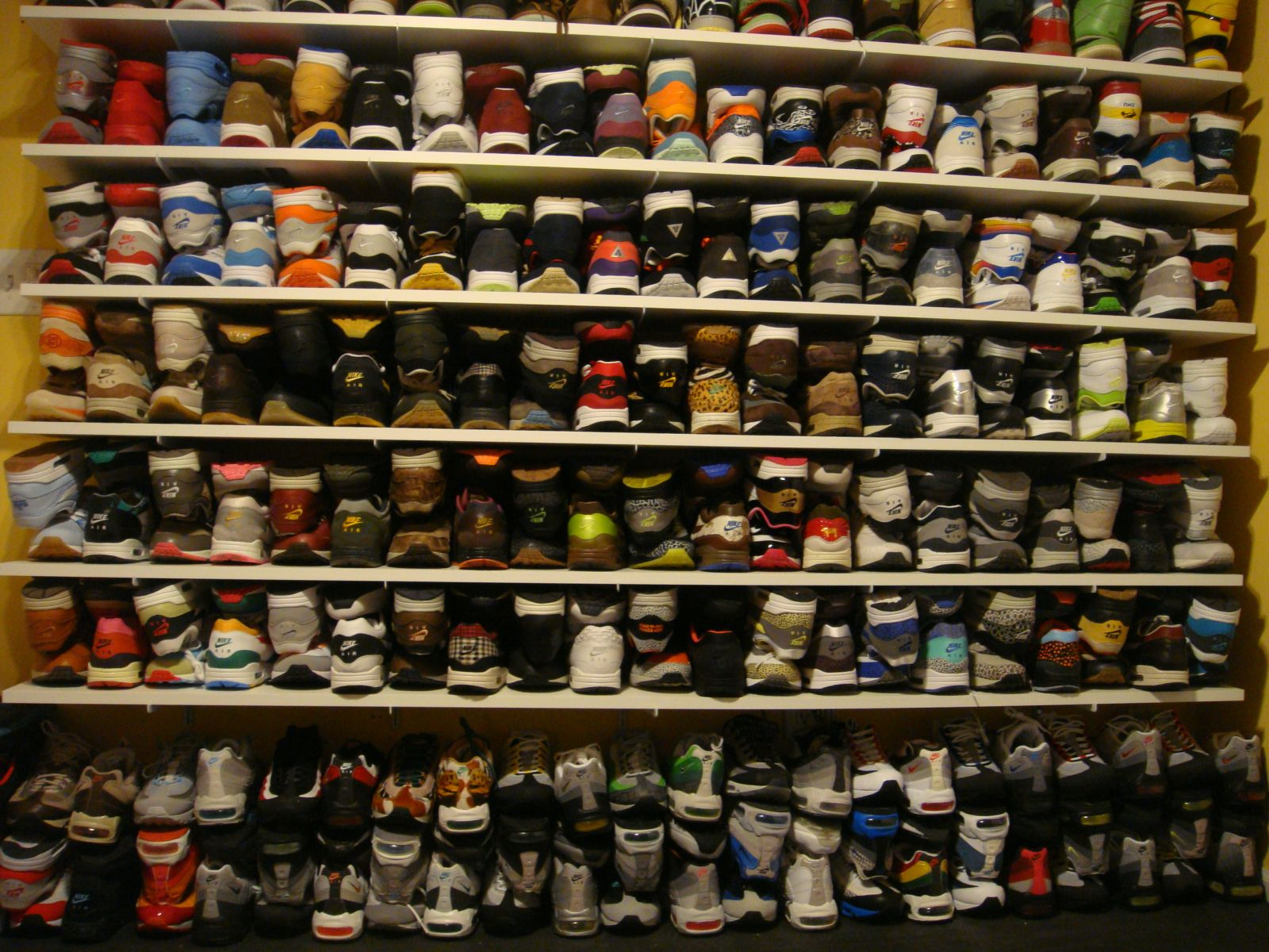 20 Of The Most Epic Sneaker Collection Photos You Ll Ever