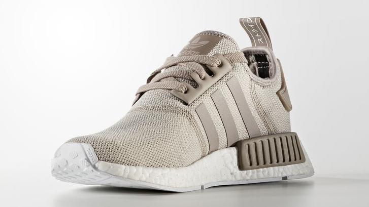 Tan Adidas NMD Front