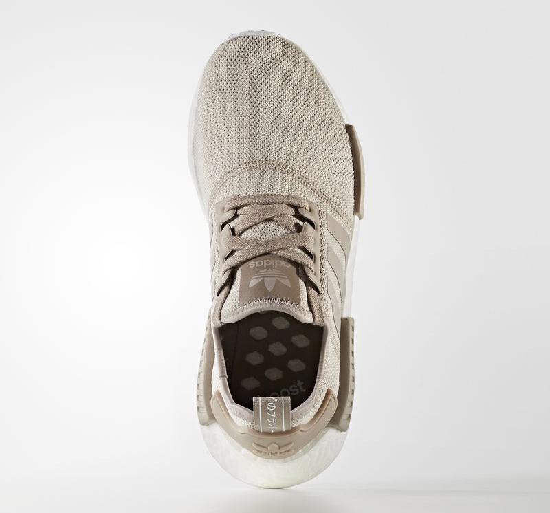 Tan Adidas NMD Top