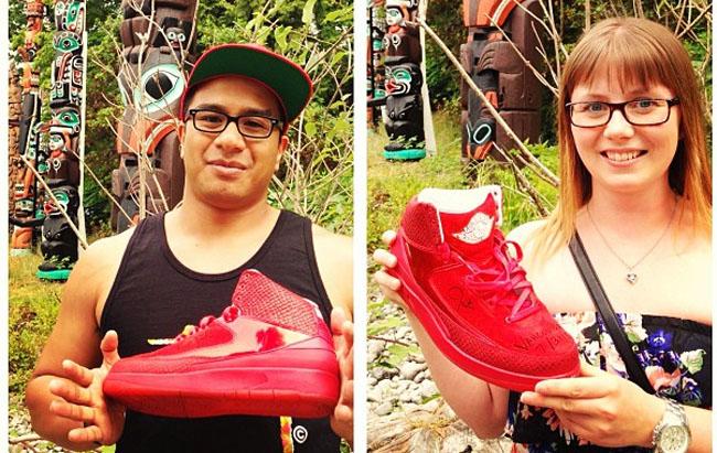 Air Jordan 2 All Red