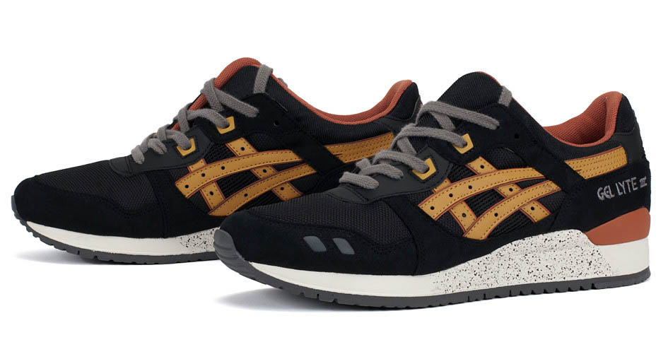 replica asics gel lyte 3 black