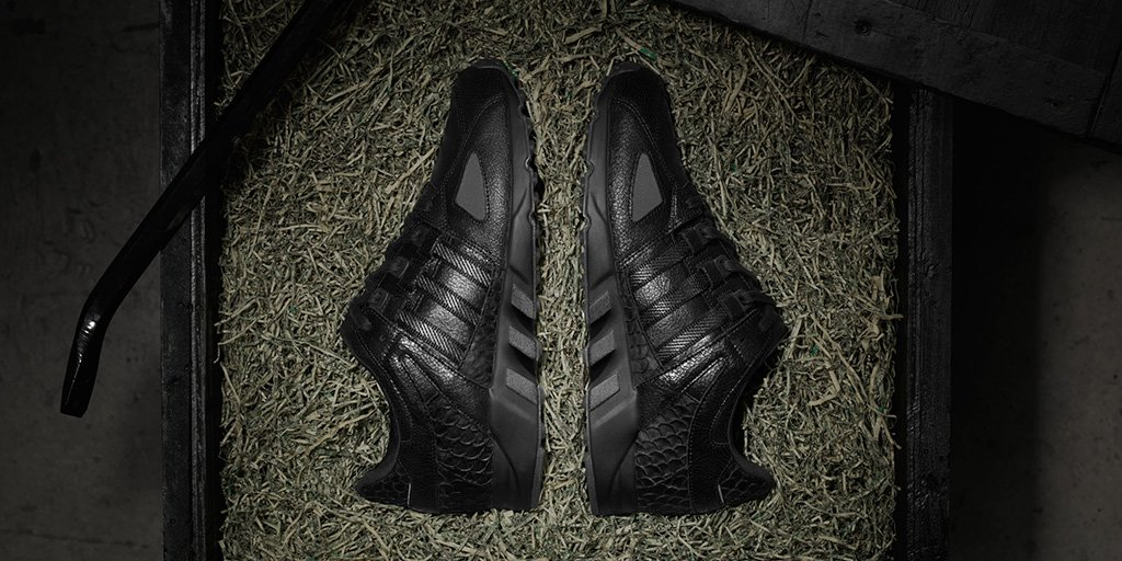 Pusha T x adidas EQT Running Guidance Black Market KicksOnFire