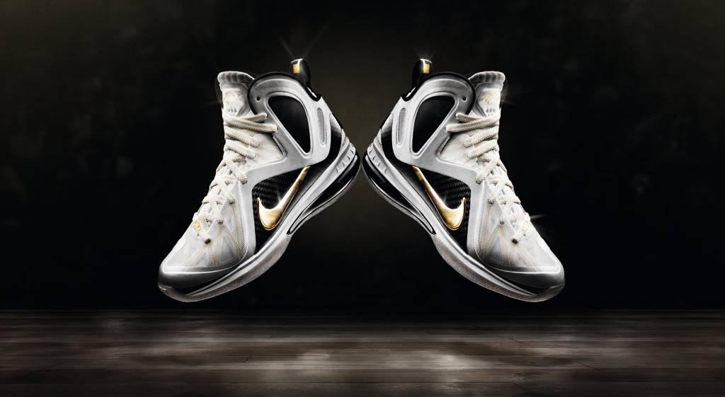 c5f5bc02b9451 Nike LeBron 9 Elite Home White Black Gold 516958-100 (1)
