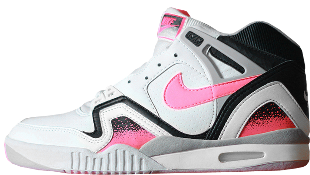 a784d8b22955 Nike Air Tech Challenge II ¾  Hot Lava  7293 White Hot Lava-Black-Zane Grey