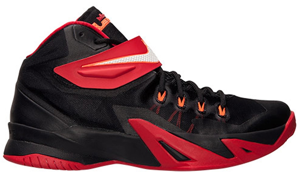 Nike Zoom Soldier VIII Black/White-University Red-Hyper Crimson