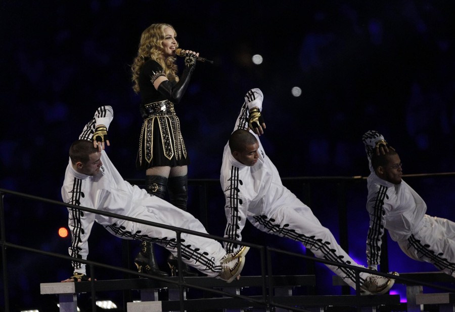 adidas Originals Music Note Tracksuits Rock Super Bowl XLVI Halftime Show