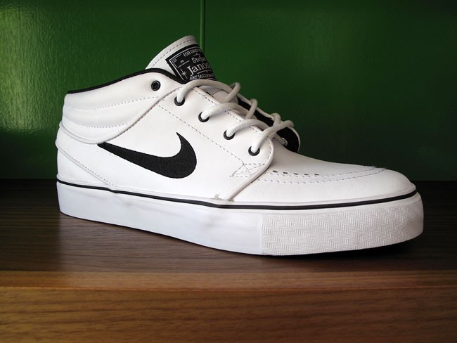 best loved 7d703 34683 nike janoski all white leather for sale