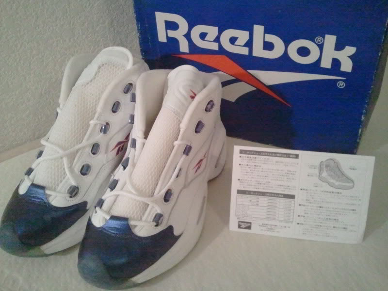 Reebok Question Pearlized Navy