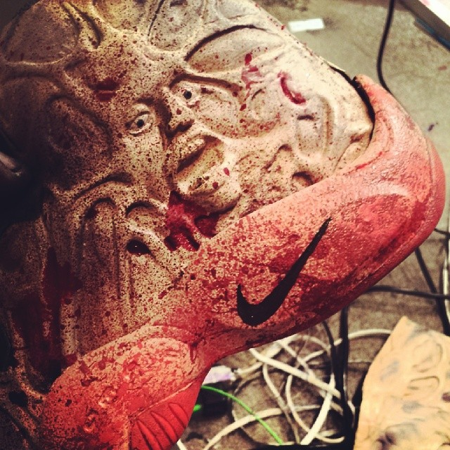 wholesale dealer b9b14 1686c Freddy Krueger Nike Glove Custom by FBCC (1)