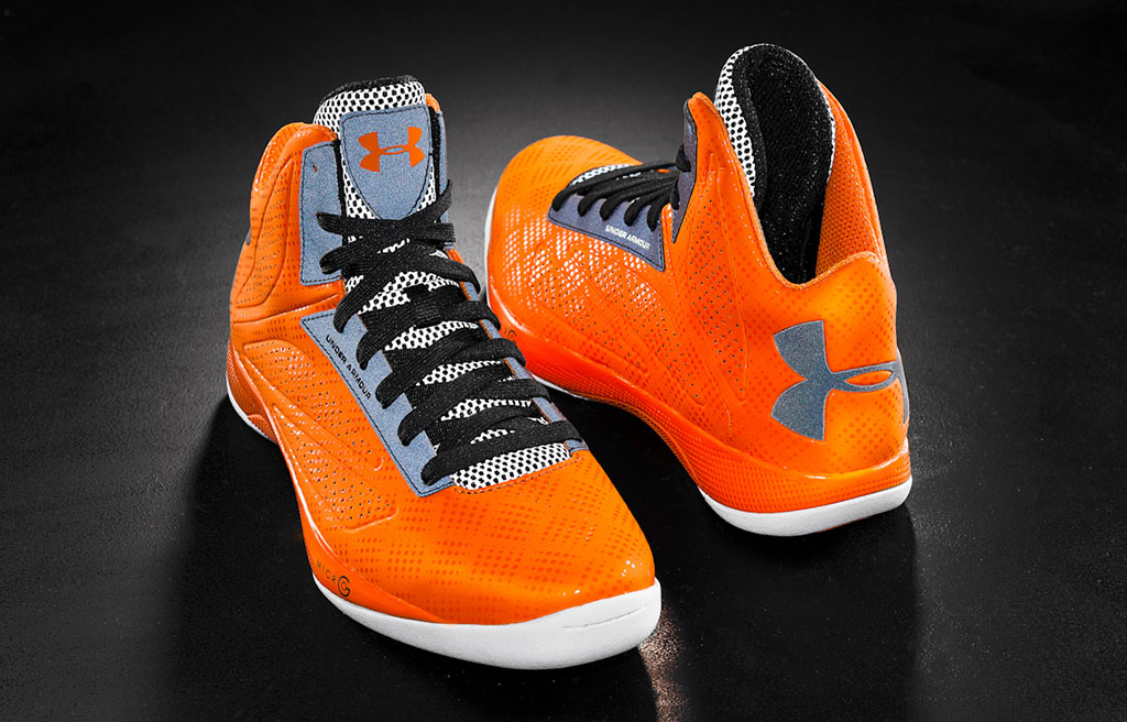 Under Armour Micro G Torch Orange Black Silver (2)