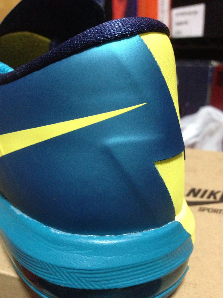 Nike KD VI Yellow Teal Navy 599424-700 (3)