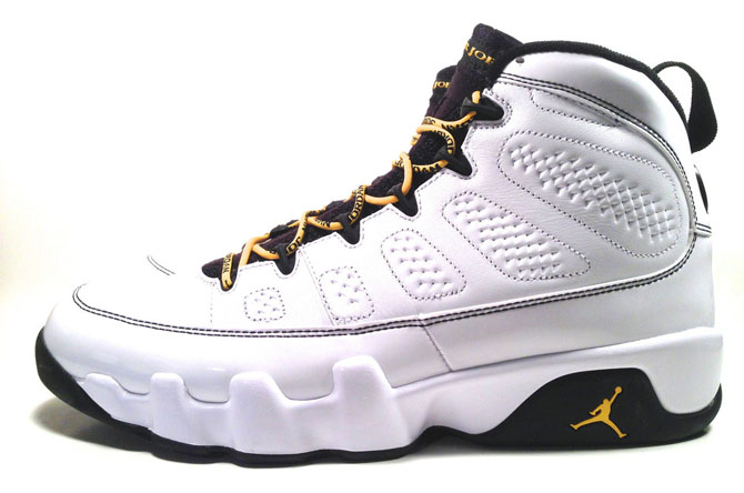 A mostly-white Air Jordan IX, like the Silver Anniversary edition, should at