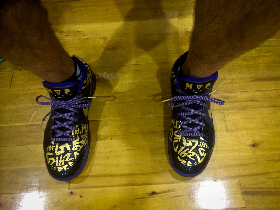 Spotlight: Forum Staff Weekly WDYWT? - 4.20.14 - JonRegister wearing Nike Zoom Kobe IV 4 POP Finals MVP Away