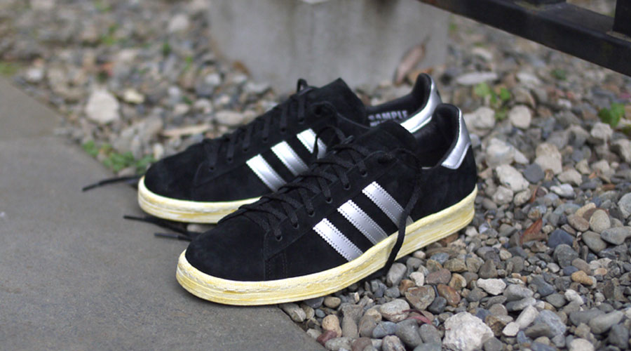 separation shoes d72f9 c39d4 mita sneakers x adidas Originals Campus 80s - Black  Silver