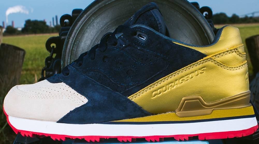 Politics x Saucony Courageous The Jackson
