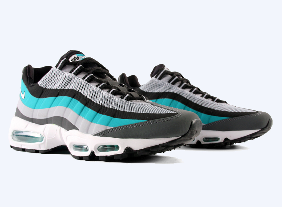 afb4375394cc Turbo Green takes the lead on Nike Sportswear s latest release of the all  new  No-Sew  Air Max 95.