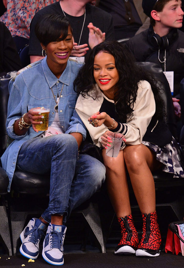 Rihanna Wearing Air Jordan XX8 Red Elephant (4)