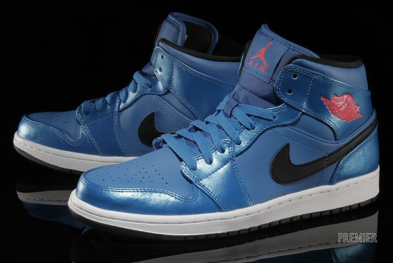 half off 48658 99cfe Air Jordan I 1 Mid Sport Blue 554724-423 (2)
