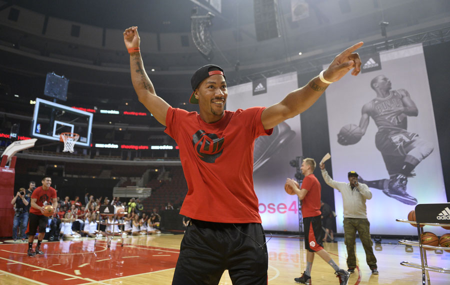 adidas x Derrick Rose 'all in for Chicago' Event Photos (11)