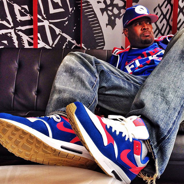DJ Clark Kent wearing Nike Air Max 1
