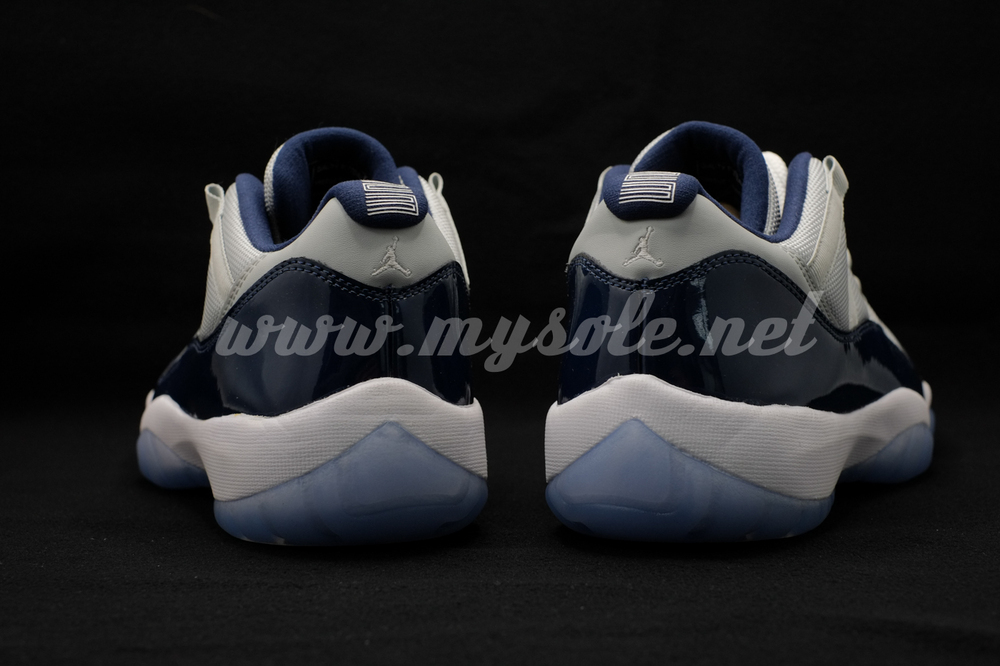 Air Jordan XI 11 Low Georgetown 528895-007 (2)