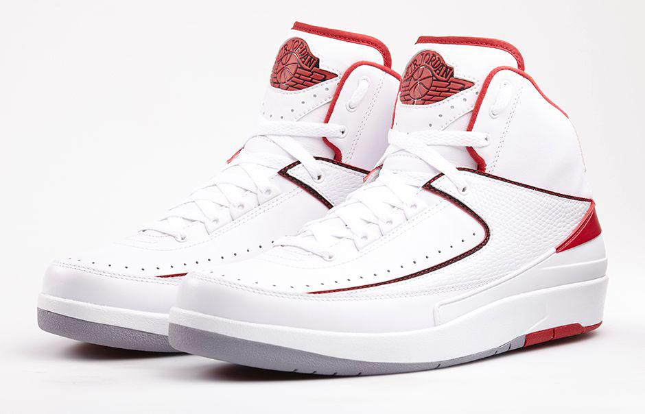 b3e4ed7ed9323f An Official Look at the  White Varsity Red  Air Jordan 2