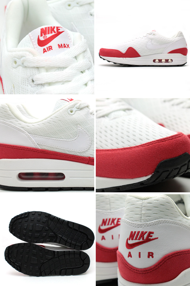 Nike Air Max 1 EM White University Red 1959e548fc