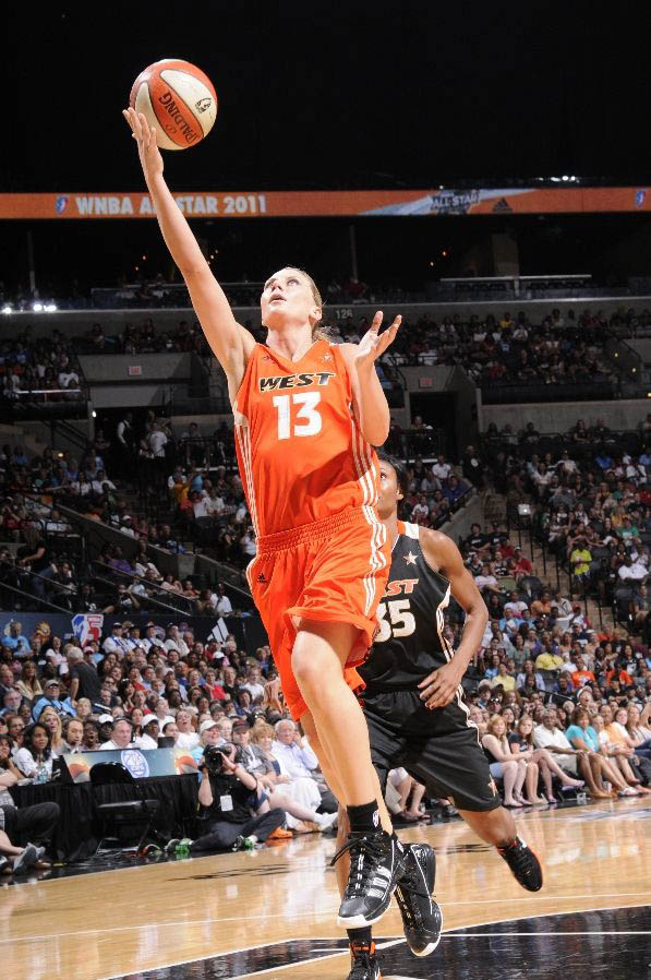 Penny Taylor wearing the adidas adiZero Infiltrate