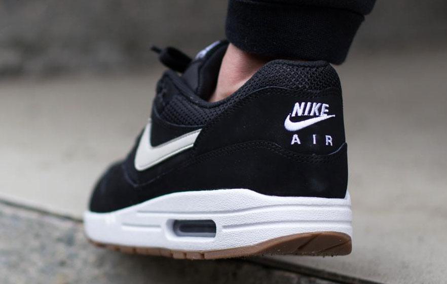 new product eba2d e52f2 Nike Air Max 1 Essential Black White Gum (4)