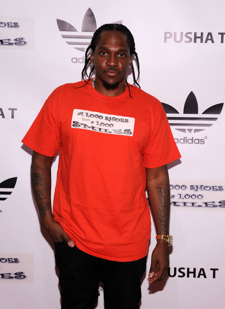 adidas Sponsors Pusha T 1000 Shoes for a 1000 Smiles Event (1)
