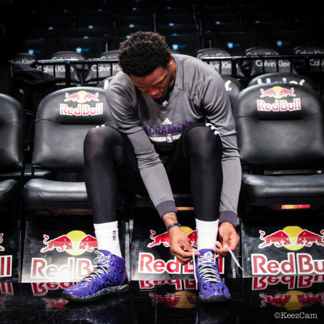 Ben McLemore wearing miadidas D Rose 4.5 Nightmare (2)