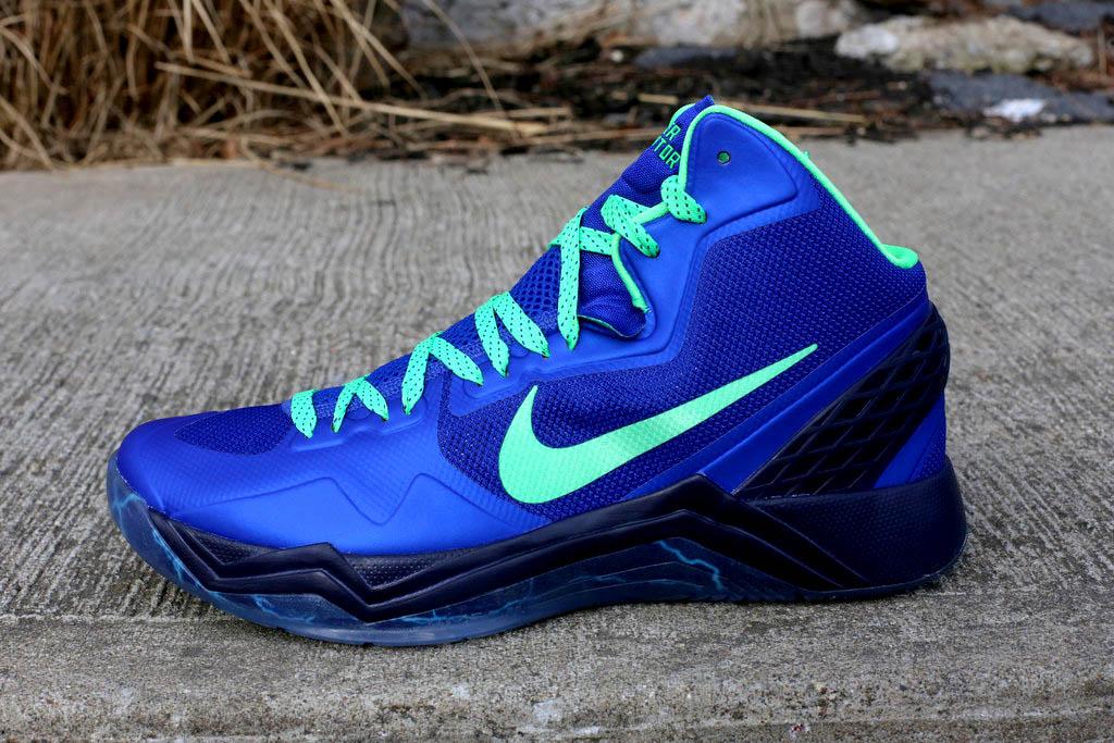 dfd68f49d00cc Nike Zoom Hyperdisruptor - Hyper Blue Poison Green