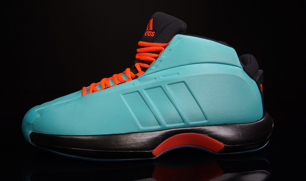adidas Crazy 1 Vivid Mint/Solar Red (1)