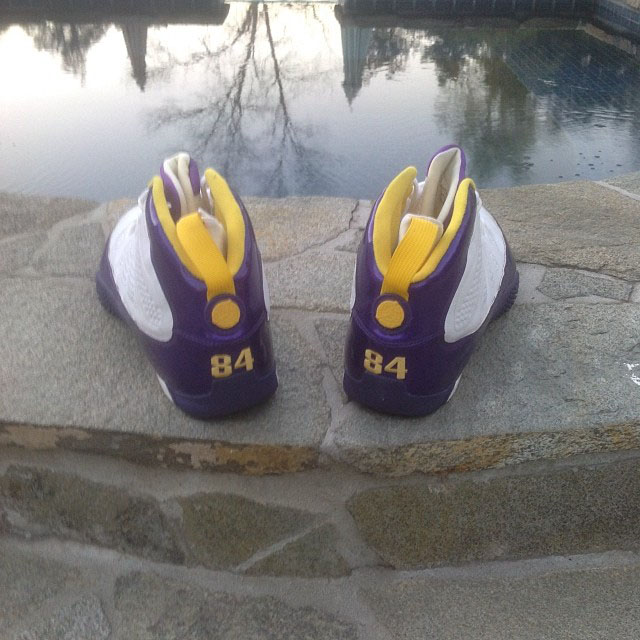 Randy Moss Air Jordan 9 Turf PE (2)