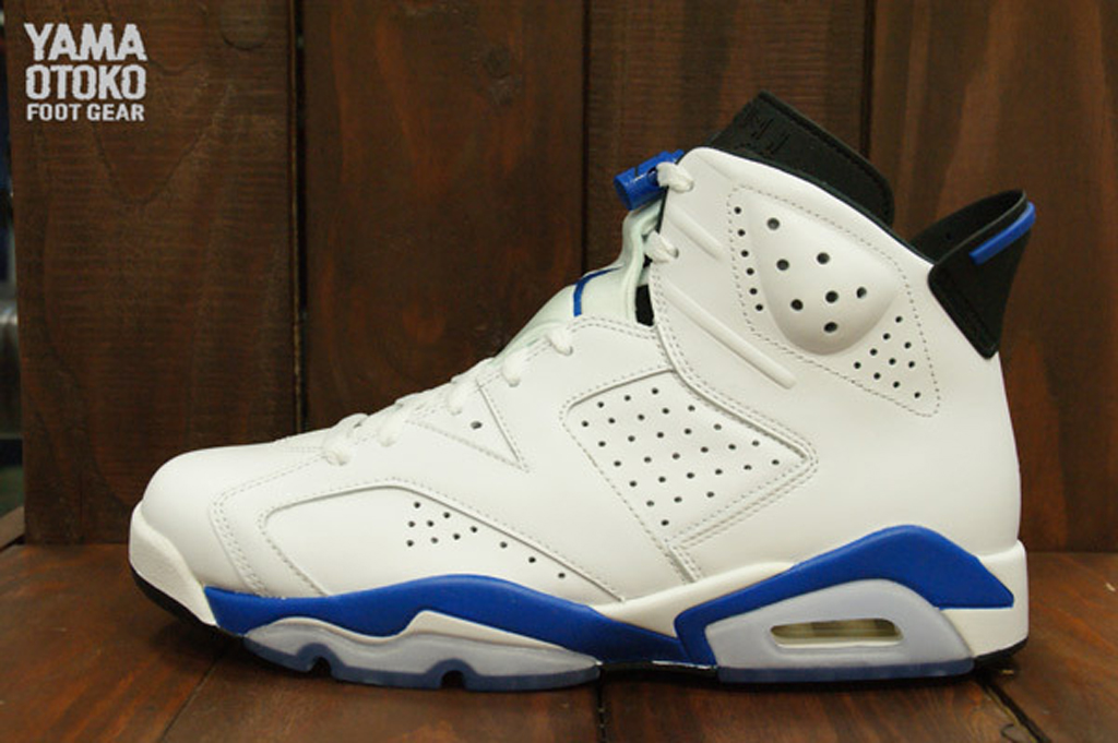 promo code ea0e9 e5a99 Air Jordan 6 'Sport Blue' From All Angles | Sole Collector